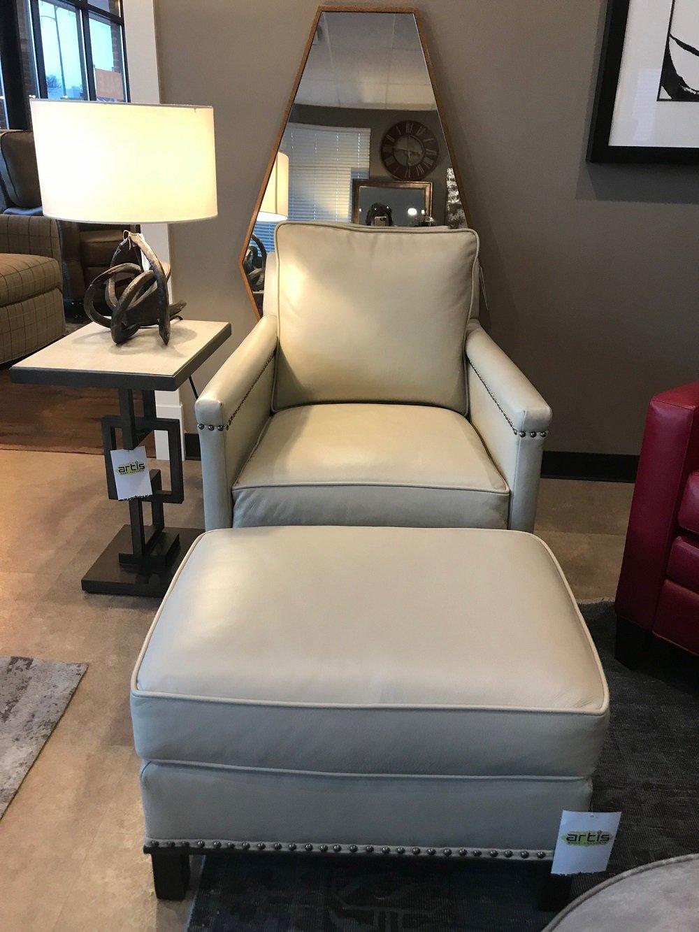 Artis Furniture 187 Leather Chair Amp Ottoman