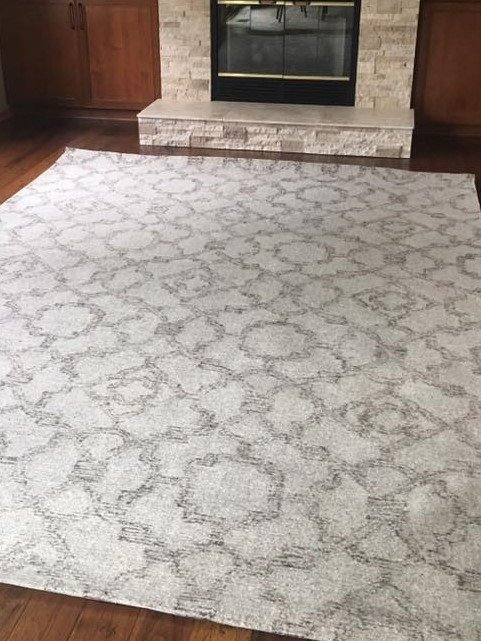 blue lady wool darcy products rug the grey felted