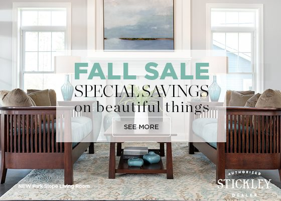 Fall Sale email Park Slope Living Room
