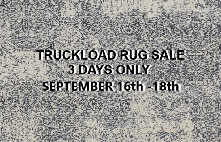 3 DAY RUG SALE